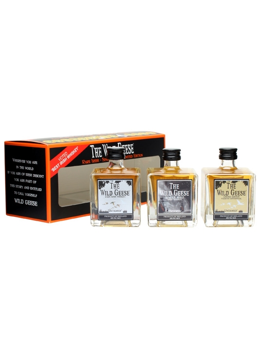 Wild Geese Irish Whiskey Gift Set