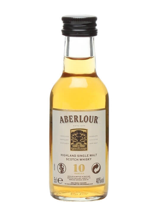 Aberlour 10 Year Old Miniature Speyside Single Malt Scotch Whisky