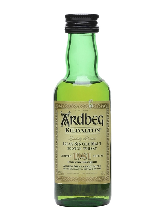 Ardbeg Kildalton 1981 Miniature Islay Single Malt Scotch Whisky