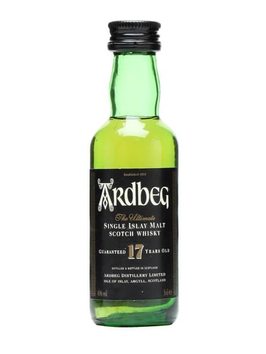 Ardbeg 17 Year Old Miniature Islay Single Malt Scotch Whisky