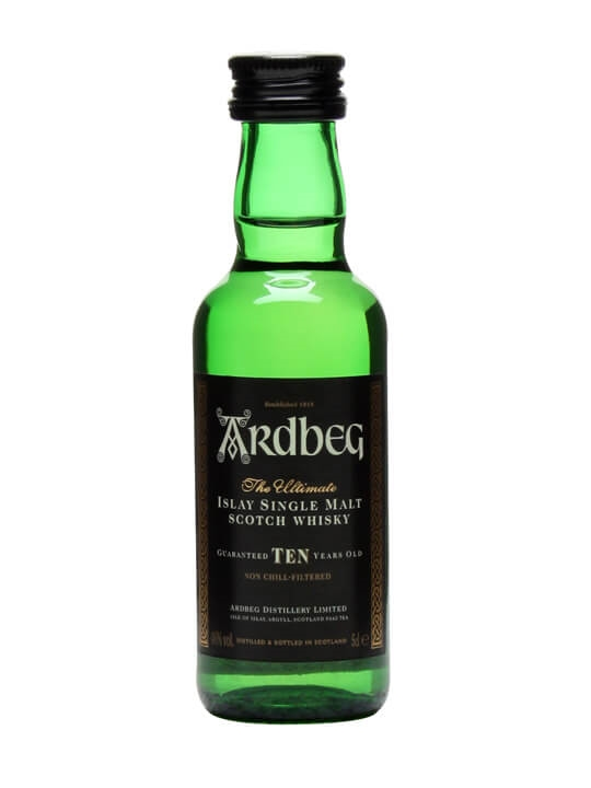 Ardbeg 10 Year Old Miniature Islay Single Malt Scotch Whisky