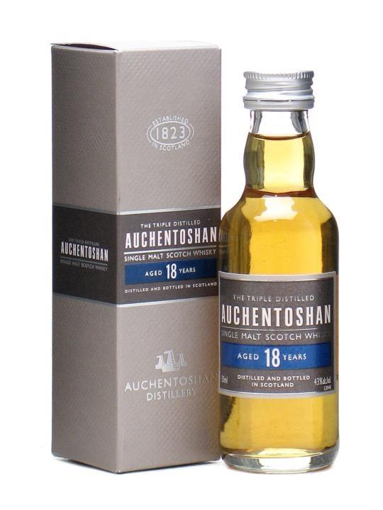 Auchentoshan 18 Year Old Lowland Single Malt Scotch Whisky