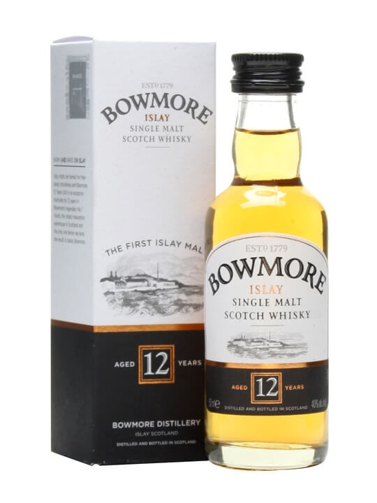 Bowmore 12 Year Old Miniature Islay Single Malt Scotch Whisky
