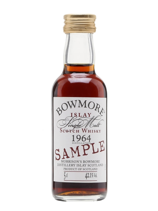 Bowmore 1964 / Sherry Cask Miniature Islay Single Malt Scotch Whisky
