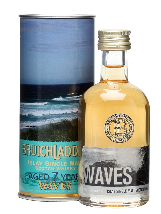 Bruichladdich Waves 7 Year Old / Miniature Islay Whisky