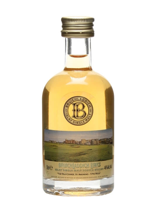 Bruichladdich Links 'the Old Course St. Andrews' Miniature Islay Whisky