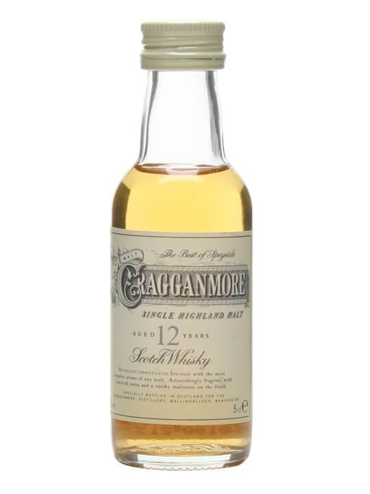 Cragganmore 12 Year Old Miniature Speyside Single Malt Scotch Whisky