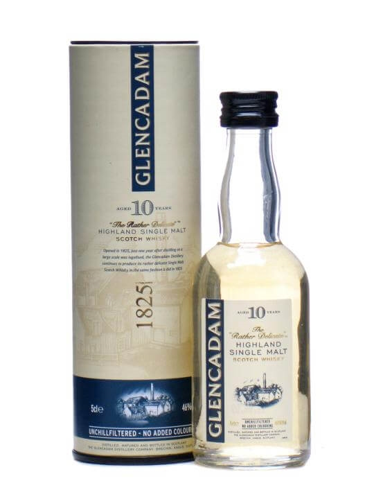 Glencadam 10 Year Old Miniature