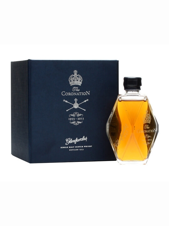 Glenfarclas 1953 / Queen's Coronation Decanter Miniature Speyside Whisky