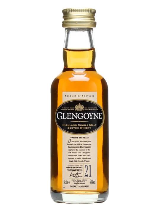 Glengoyne 21 Year Old Miniature Highland Single Malt Scotch Whisky