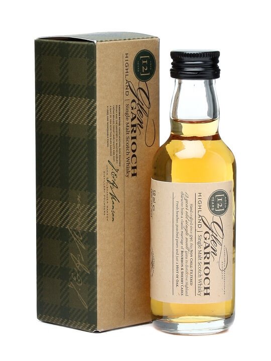 Glen Garioch 12 Year Old Miniature Highland Single Malt Scotch Whisky