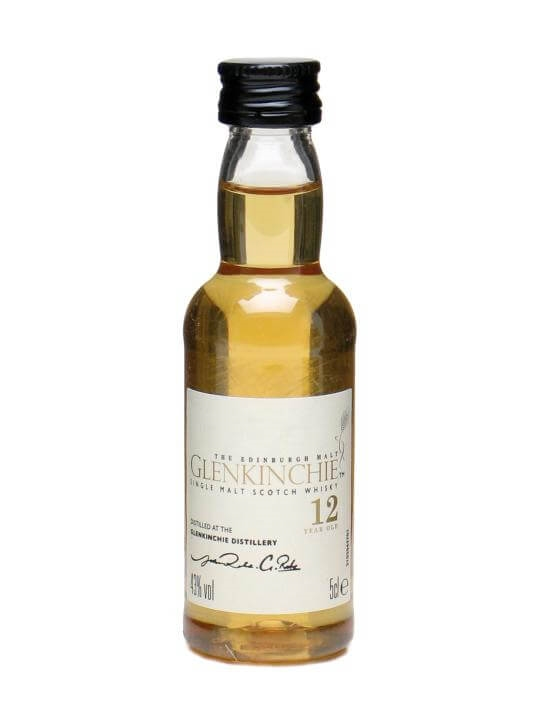 Glenkinchie 12 Year Old Miniature Lowland Single Malt Scotch Whisky