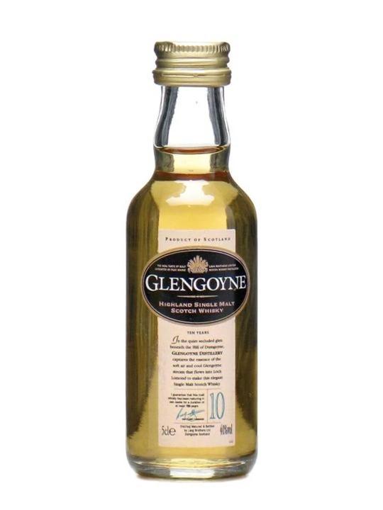 Glengoyne 10 Year Old Miniature Highland Single Malt Scotch Whisky