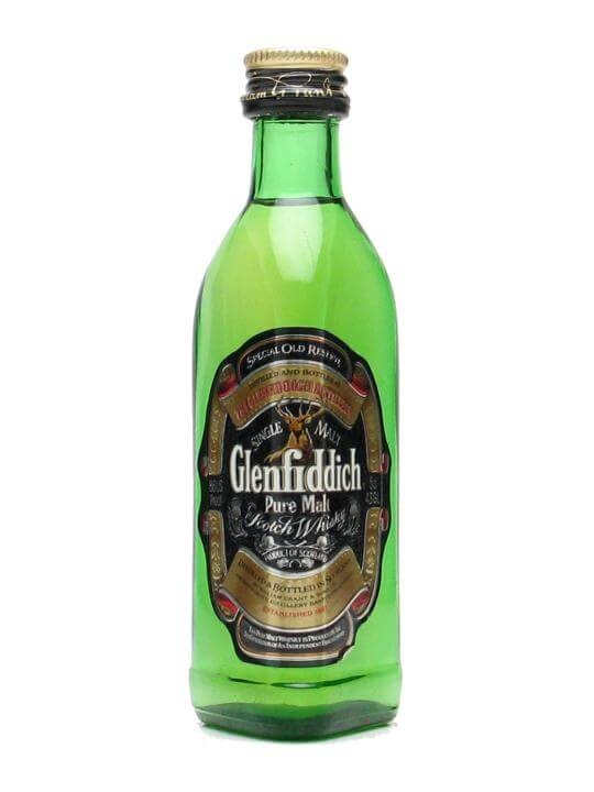 Glenfiddich Special Reserve Pure Malt Miniature Speyside Whisky