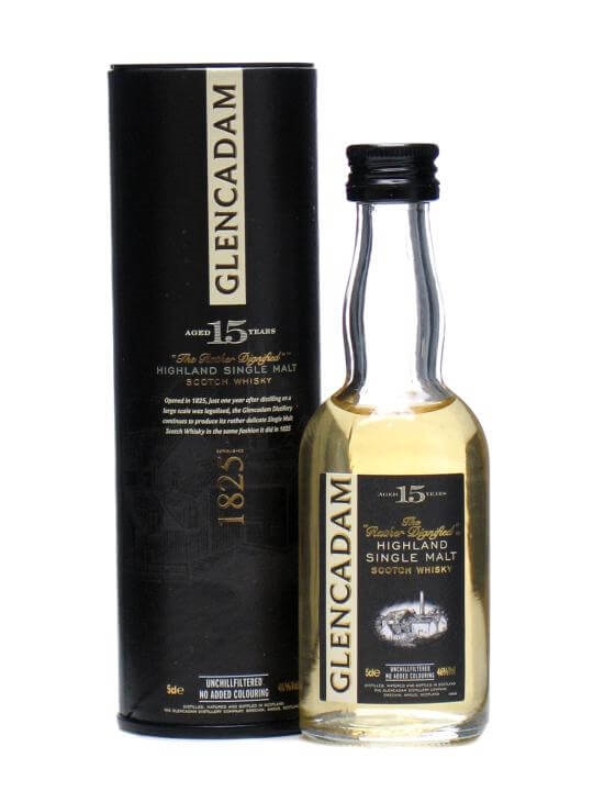 Glencadam 15 Year Old Miniature Highland Single Malt Scotch Whisky
