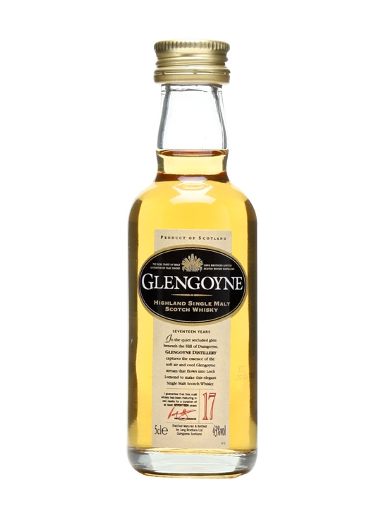 Glengoyne 17 Year Old Miniature Highland Single Malt Scotch Whisky