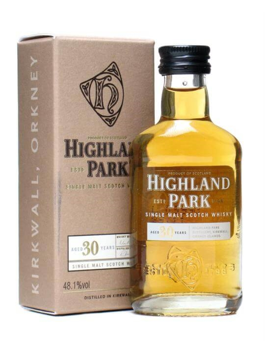 Highland Park 30 Year Old Miniature Island Single Malt Scotch Whisky