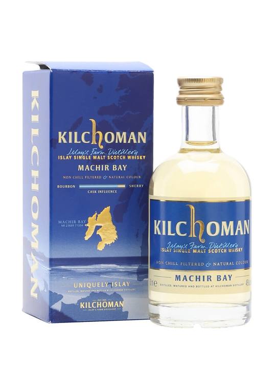 Kilchoman Machir Bay 2012 Miniature Islay Single Malt Scotch Whisky