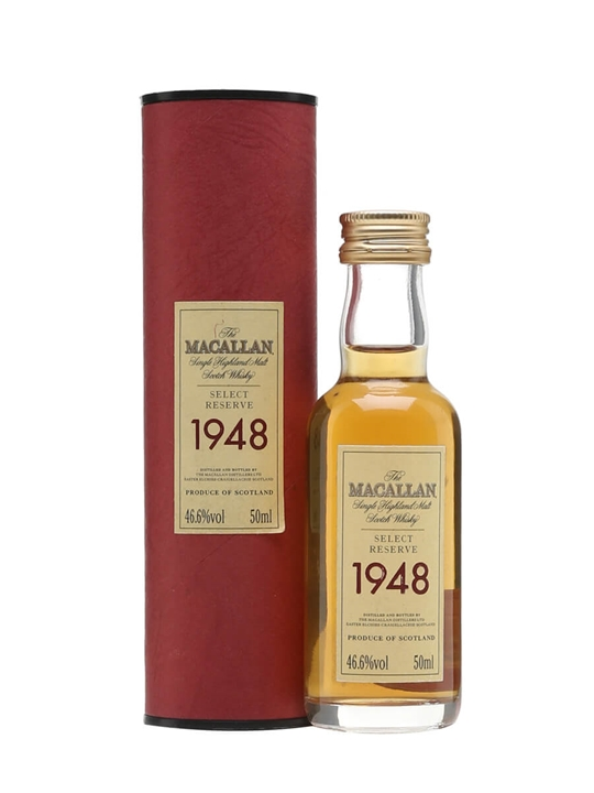 Macallan 1948 Miniature Speyside Single Malt Scotch Whisky