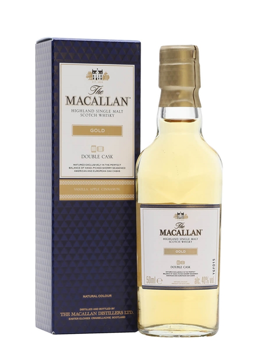 Macallan Gold Miniature Speyside Single Malt Scotch Whisky