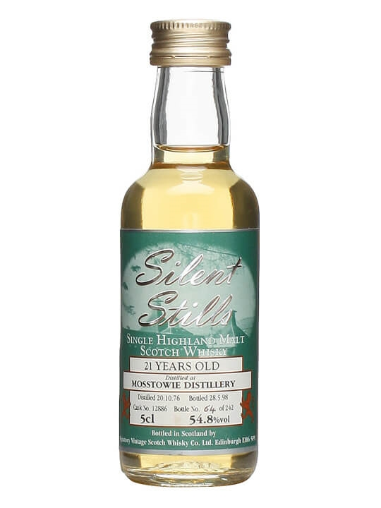Mosstowie 1976 Miniature / 21 Year Old / Cask #12886 Speyside Whisky