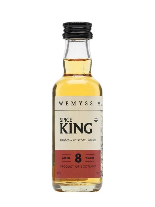 Wemyss Spice King 8 Year Old / 40% / 5cl Blended Malt Scotch Whisky