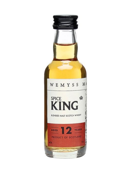 Wemyss Spice King 12 Year Old Blended Malt Scotch Whisky