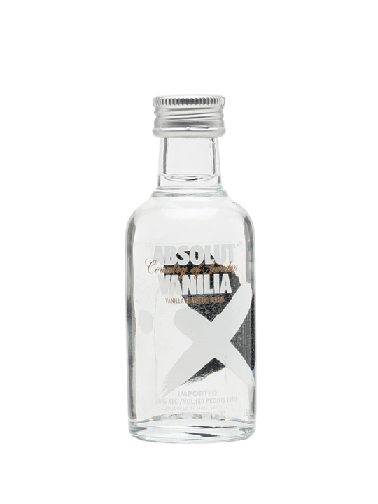 Absolut Vanilla Vodka Miniature