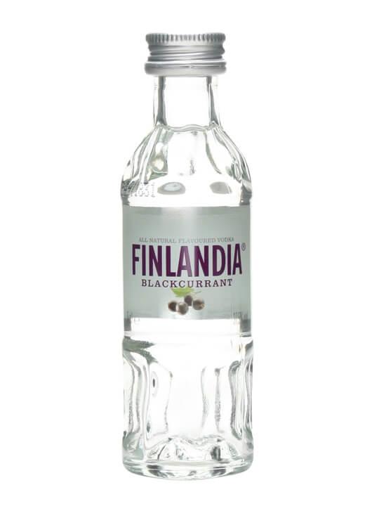Finlandia BlackCurrant Vodka Miniature