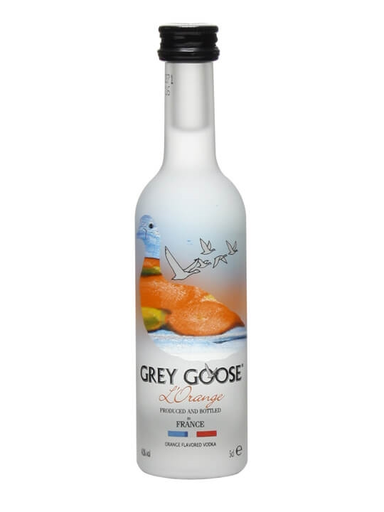 Grey Goose Orange Vodka Miniature