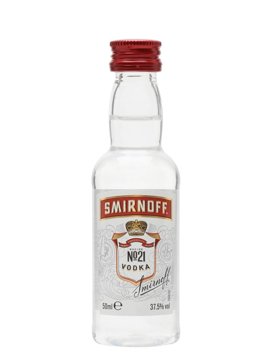 Smirnoff Red Vodka Miniature