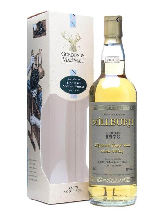 Millburn 1978 / Gordon & Macphail Highland Single Malt Scotch Whisky