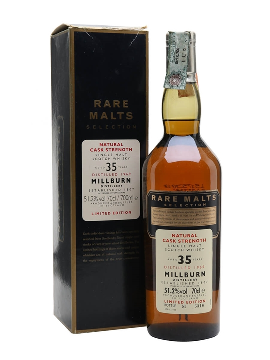 Millburn 1969 / 35 Year Old Highland Single Malt Scotch Whisky