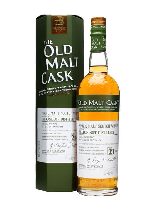 Miltonduff 1990 / 21 Year Old / Old Malt Cask #7921 Speyside Whisky