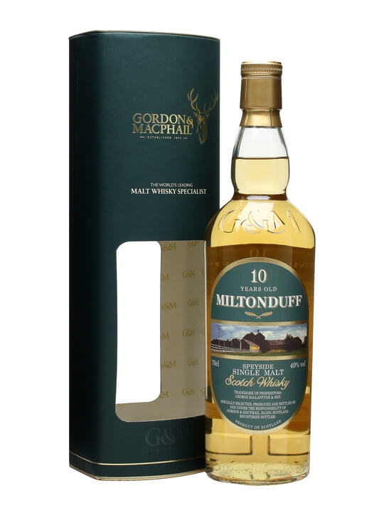 Miltonduff 10 Year Old / Gordon & Macphail Speyside Whisky
