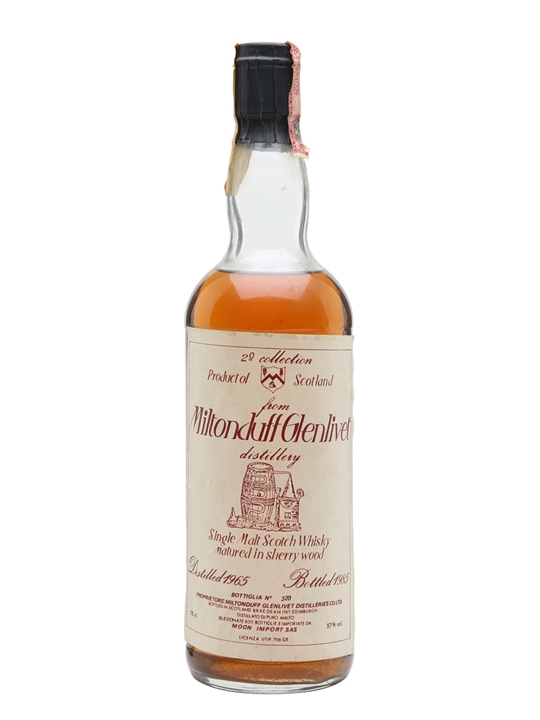 Miltonduff 1965 / Bot.1985 / Sherry Wood / Moon Import Speyside Whisky
