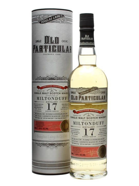 Miltonduff 1996 / 17 Year Old / Old Particular Speyside Whisky