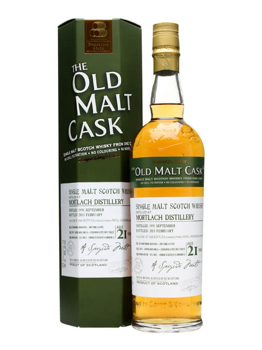 Mortlach 1991 / 21 Year Old / Old Malt Cask #9432 Speyside Whisky