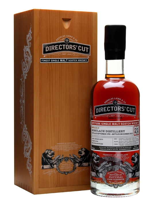Mortlach 1992 / 21 Year Old / Sherry Butt / Director's Cut Speyside Whisky