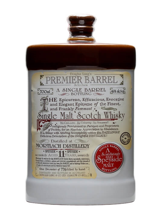 Mortlach 1996 / 11 Year Old / Sherry / Premier Barrel Speyside Whisky