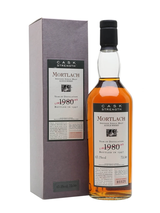 Mortlach 1980 Speyside Single Malt Scotch Whisky