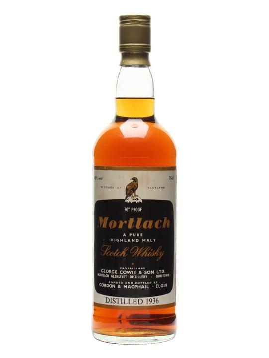 Mortlach 1936 / Bot.1970s / Gordon & Macphail Speyside Whisky