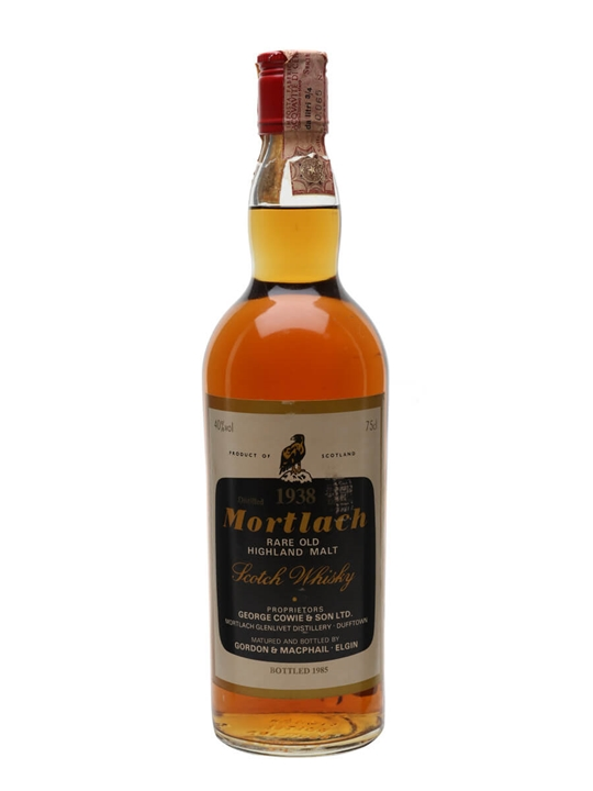 Mortlach 1938 / Bot.1985 / Gordon & Macphail Speyside Whisky