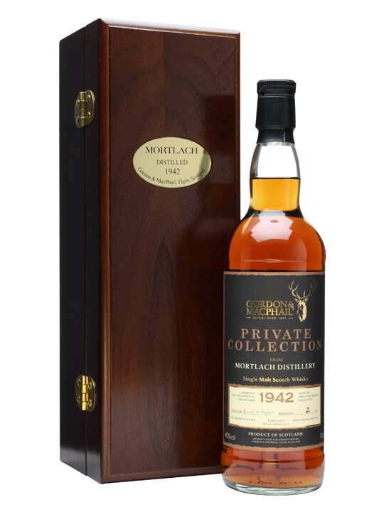 Mortlach 1942 / 50 Year Old / G&m Private Collection Speyside Whisky