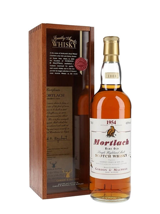Mortlach 1954 / Sherry Cask / Gordon & Macphail Speyside Whisky