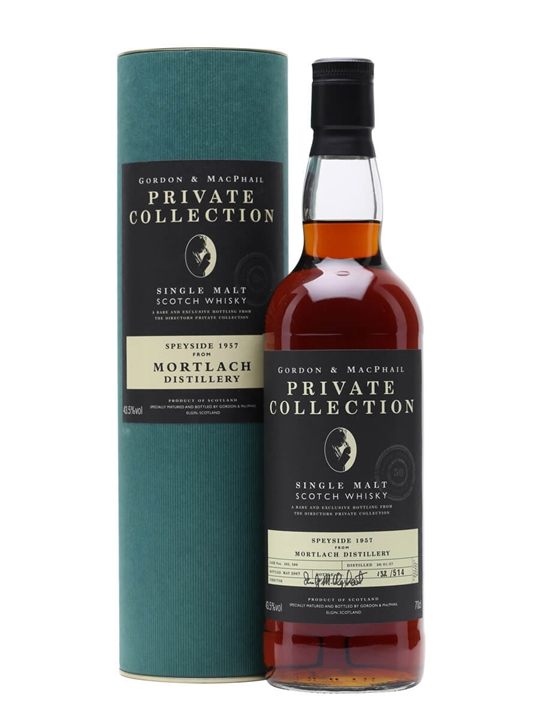 Mortlach 1957 / Private Collection / Gordon & Macphail Speyside Whisky