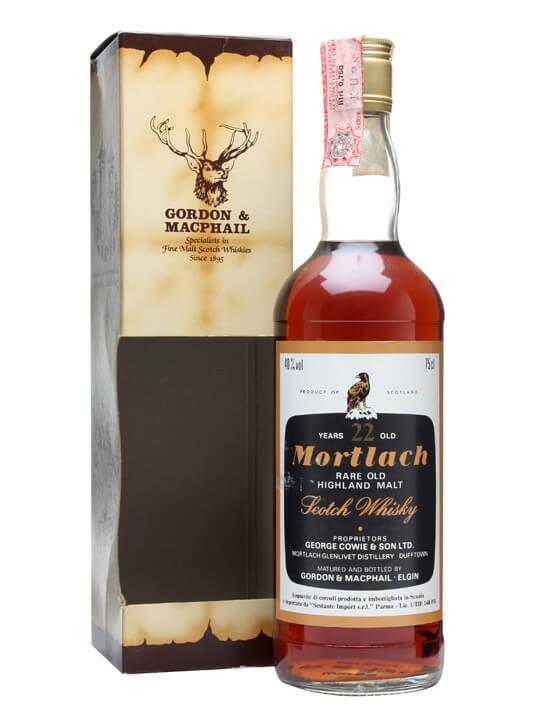 Mortlach 22 Year Old / Bot.1980s Speyside Single Malt Scotch Whisky