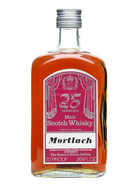 Mortlach 25 Year Old / Silver Jubilee Speyside Whisky