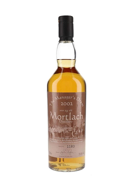 Mortlach 19 Year Old / Manager's Dram Speyside Whisky