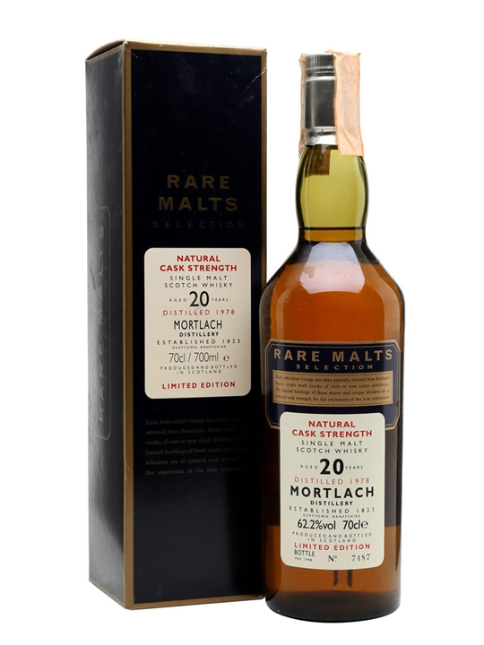 Mortlach 1978 / 20 Year Old Speyside Single Malt Scotch Whisky